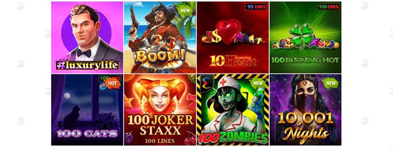 Bob Casino videoslots