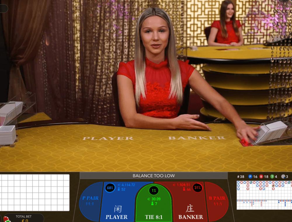 Live baccarat spelen – de beste baccarat casino 2021