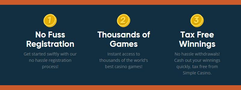 Simple Casino betrouwbaar