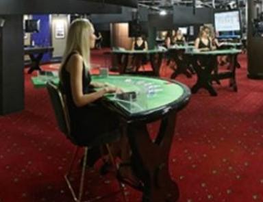 Live blackjack in Casino Studio