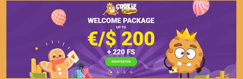 Cookie casino welkomstbonus