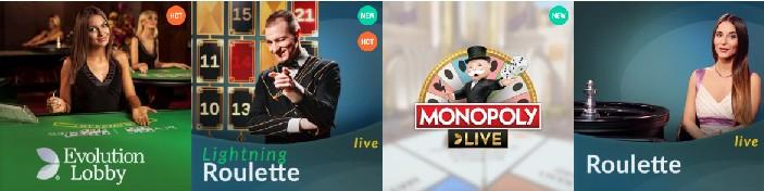 Unibet Live Casino Spellen