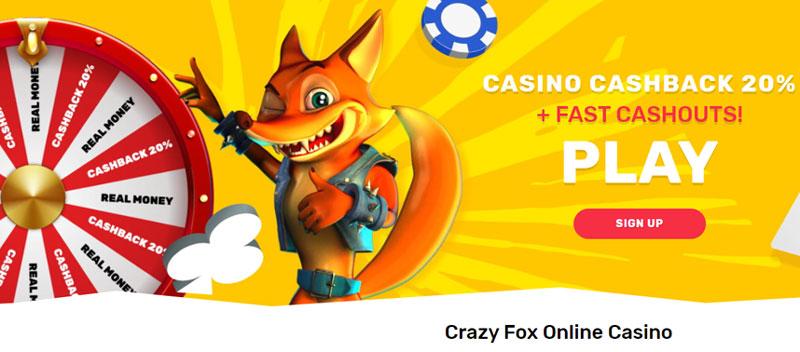 Crazy Fox Cashback