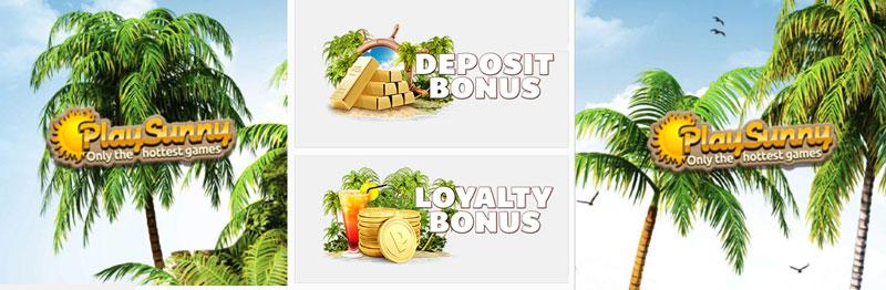 PlaySunny bonus