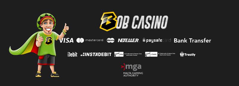 Bob Casino stortingsmogelijkheden