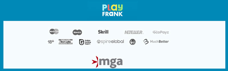 PlayFrank stortingsmethode