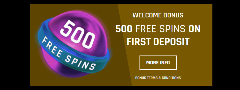 Casino Universe welkomstbonus