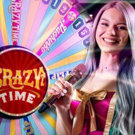 Crazy Time – Het dolle rad van fortuin van Evolution Gaming!
