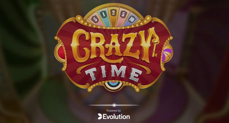Live Crazy Time Evolution Gaming screenshot