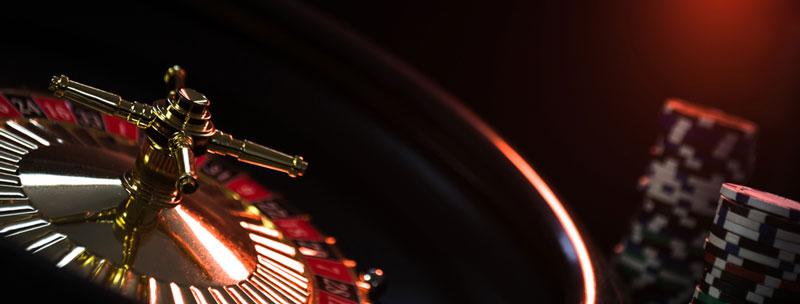Live casino roulettewiel