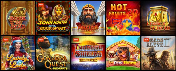 N1 Casino spelaanbod