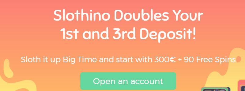 Slothino casino welkomstbonus