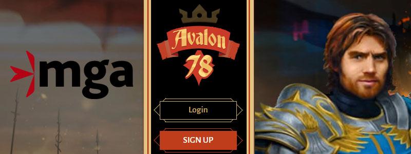 Avalon78 registeren