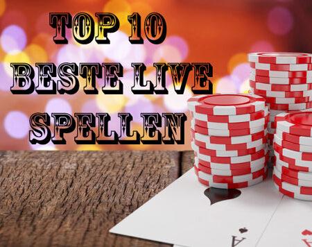 De top 10 beste live spellen van dit moment