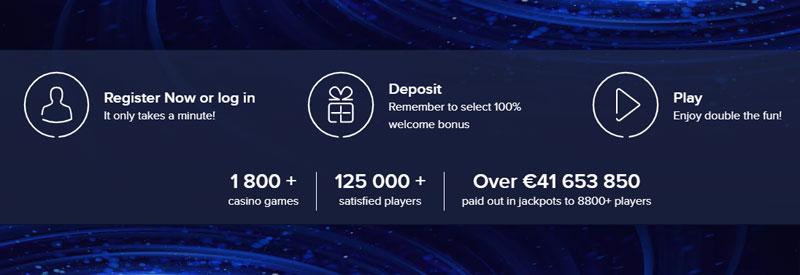 Casino Euro Account aanmaken