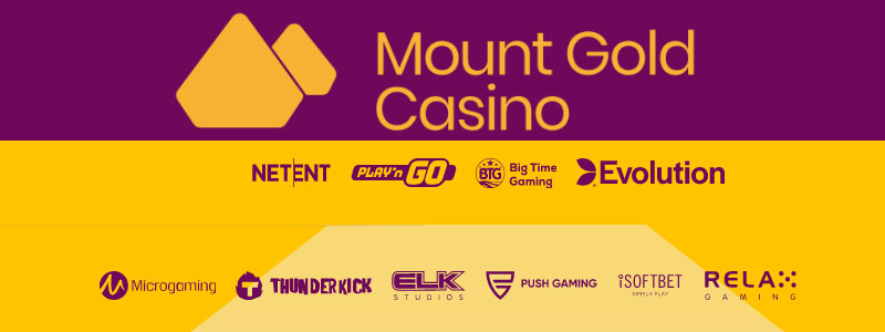 Mount Gold Casino spelproviders