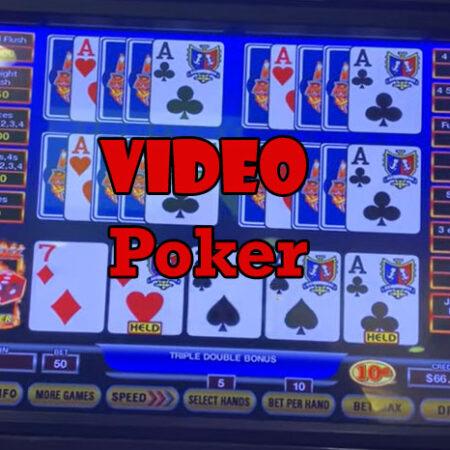 Waarom is video poker zo populair? En hoe werkt het?