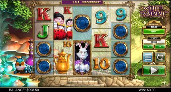 White Rabbit Slot Screenshot