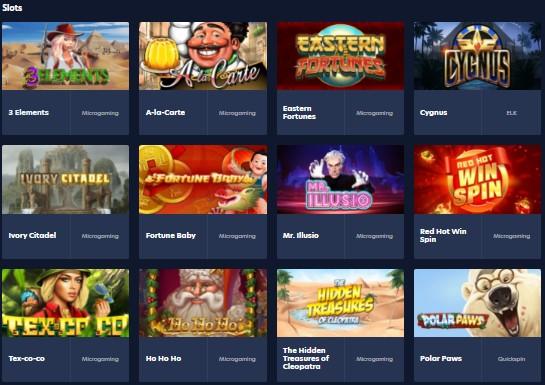 Live.casino slots
