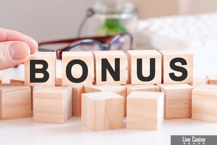 Blocks displaying the word bonus