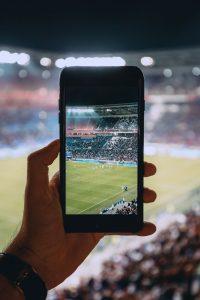 Football mobile betting