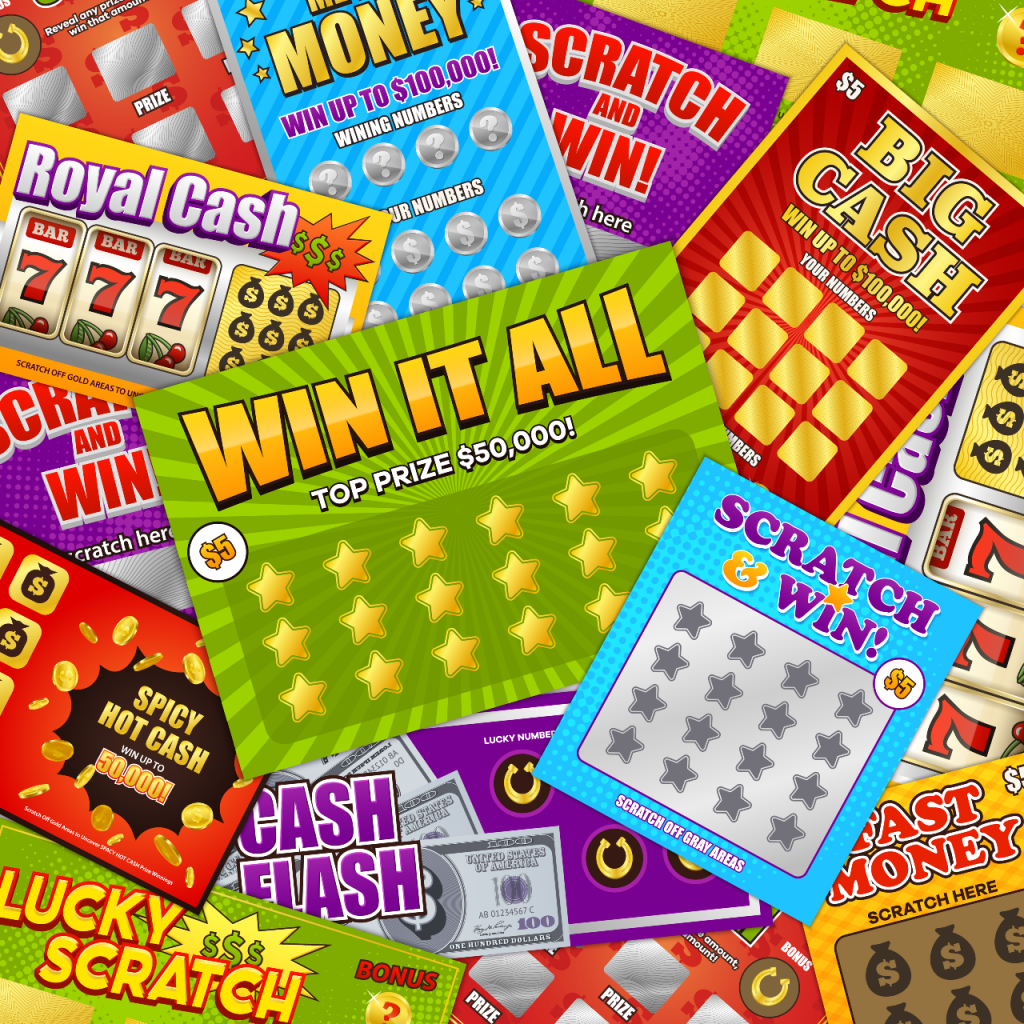 Different types of scratch cards