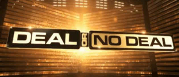 Deal or no deal slot logo