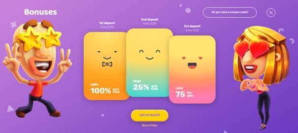 Emojino Casino bonussen