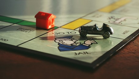 An image of monopoly board game