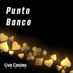Live Punto Banco – Punto Banco Online Spelen in Live Casino's