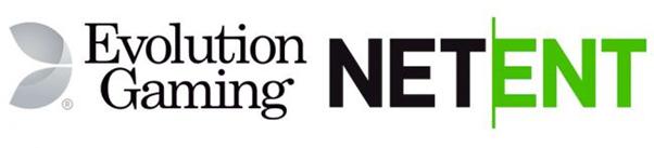 Evolution and netent logos